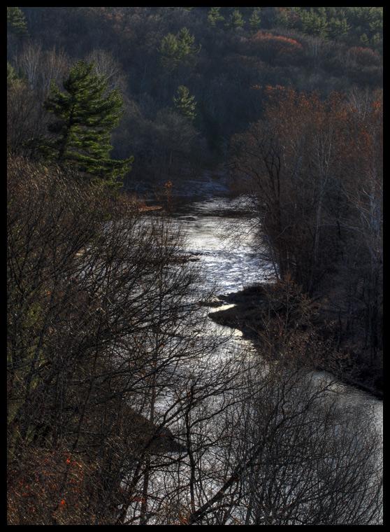 River through Rosendale